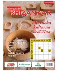 Tematski Križankar - Slovenska kulturna dediščina