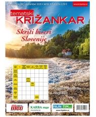 Tematski Križankar - Skriti biseri Slovenije